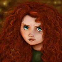 Merida- Brave by Picassita