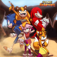 Sonic Boom by winded-wolf