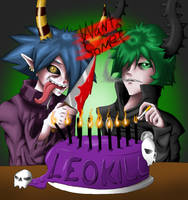 Leo's Cake of Madness by LordZaix