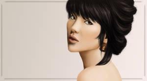 Portrait of Mai by arelia-dawn