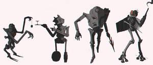 Robo sketches by henrikutvonen