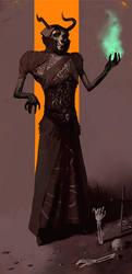 Necromancer by henrikutvonen