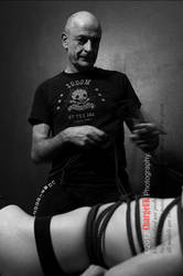 Black n Whites nRope with Esinem by ChargeUK