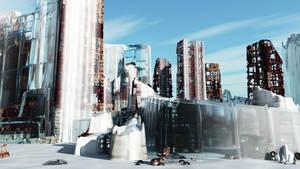 Frozen City by RichardjJones