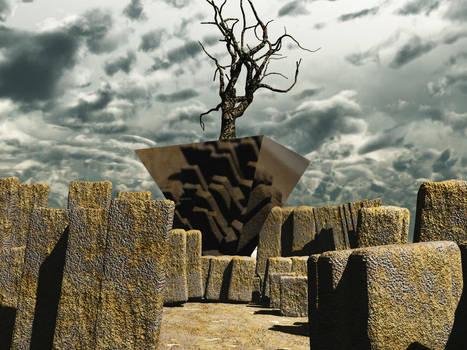 Vue- Pyramid Rock by RichardjJones