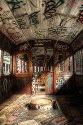 Harold Park Trams by RichardjJones