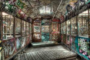 Harold Park Trams5 by RichardjJones