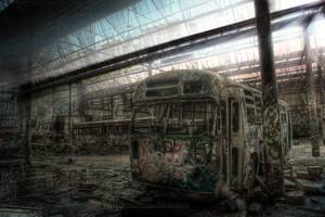 Harold Park Trams7 by RichardjJones