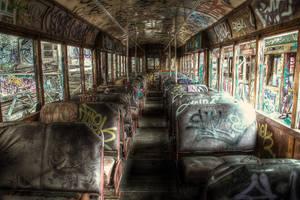 Harold Park Trams8 by RichardjJones