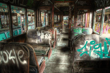 Harold Park Trams9 by RichardjJones