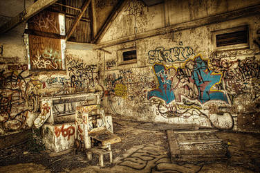 HDR Old Winery3 by RichardjJones