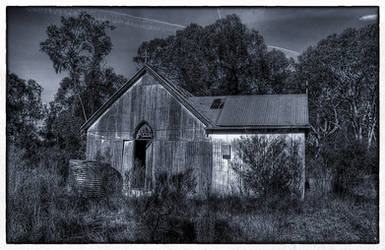 Kellys Creek Bush Church 1 by RichardjJones