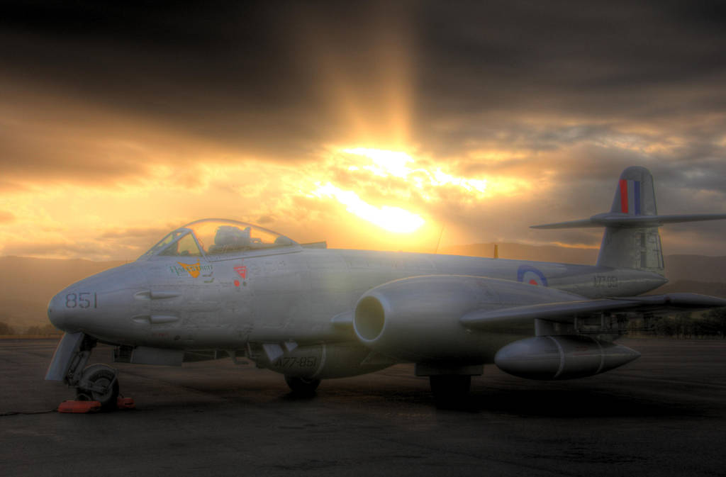 Jet fighter aircraft by RichardjJones