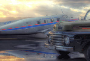 de Havilland Beaver + Ford by RichardjJones
