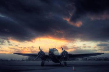 de Havilland Caribou by RichardjJones
