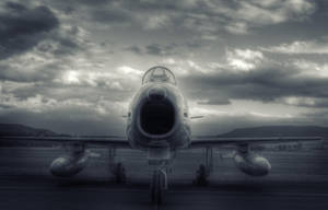 F-86 Sabre fighter aircraft by RichardjJones