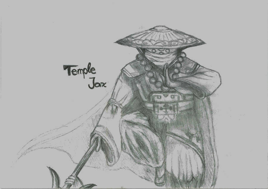 Temple Jax League Of Legends By Dramaqueeny On Deviantart
