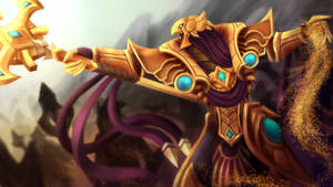 the  Emperor of the Sands by Mirtilo