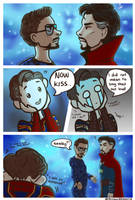 Peter support IronStrange  by miloutjexdrawing