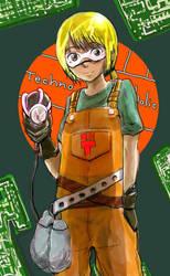 Mechanic Girl by cinkaldente