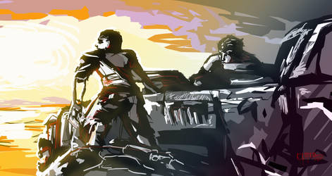 Fury Road by MADCLARE