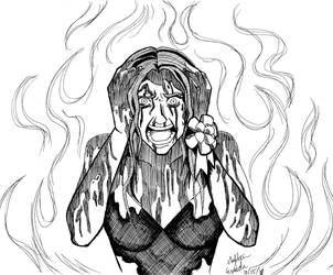 Inktober 15 - Carrie by Nylten