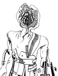 Inktober 27 - Servant Brute (Amnesia) by Nylten