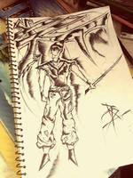 Random Sketch 1  by rahuldragneel