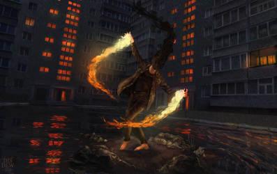 Fire Catcher by DismalDewberry