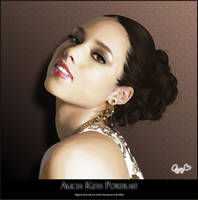 Alicia Keys - Vexel Art by Joaris333
