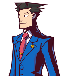 Phoenix Wright in Ghost Trick by Rockerfox999