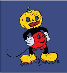Mickey Pumpkin by sampratot