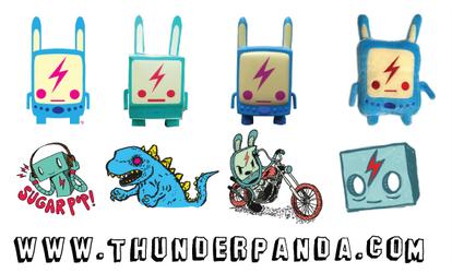 Thunderpanda Mac Icon by sampratot