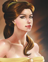 Belle by Chouaart