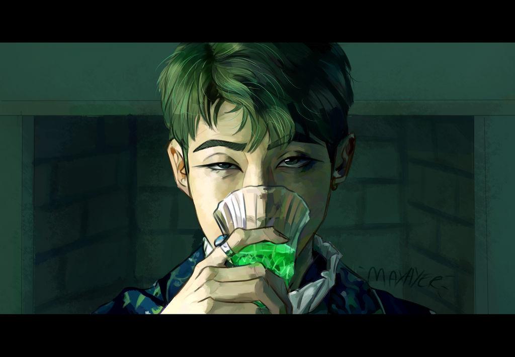 Namjoon Blood Sweat And Tears By Maxayer On Deviantart