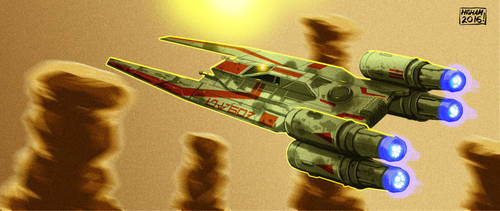 UT-60D U-Wing by KhairulHisham