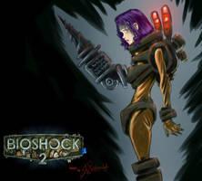 BioShock2 Sister Fanart by Jipeto