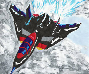Of Red and Blue- IvoryDraco by SWAT-Kats-fanclub