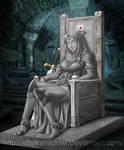 COMMISSION - Karyana Sad Ending by DarkShadowArtworks