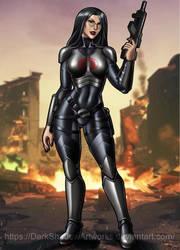 Cobra Baroness by DarkShadowArtworks