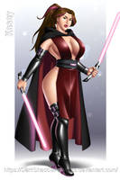 COMMISSION - Kasey Sith Lord by DarkShadowArtworks