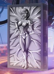 COMMISSION - Kei Carbonite by DarkShadowArtworks