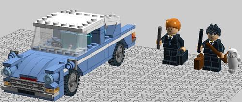 HP Ford Anglia 7 by Gingko19