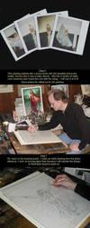Acrylic painting tutorial by kimdemulder