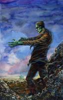 Frankenstein's Monster by kimdemulder