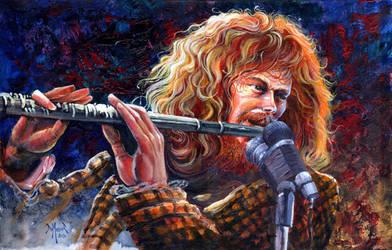 Ian Anderson of Jethro Tull by kimdemulder