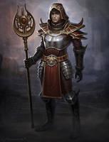 Mage Warrior by Fleurdelyse
