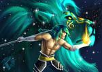 Cosmic god by Adasca
