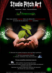 Eco Responsasble by StudioPitchArt