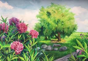 Landscape park 2 by LazyDasha